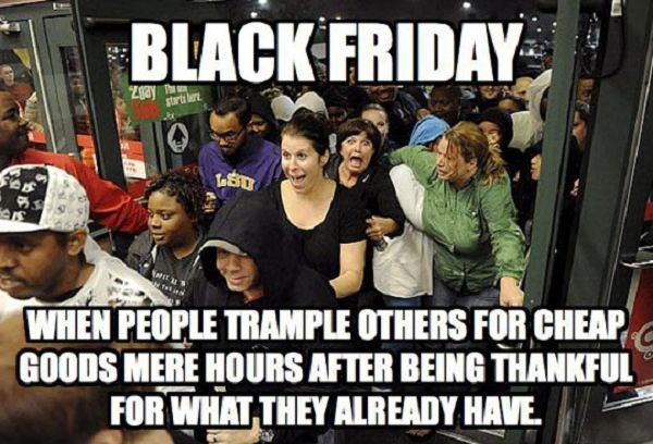 black friday We Were Thankful All Day Yesterday