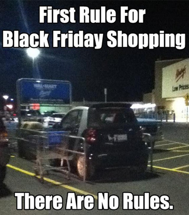 black friday It's Every Smart Car for Himself