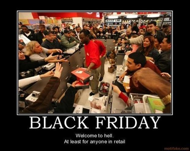 black friday What Did You Do to Deserve This?