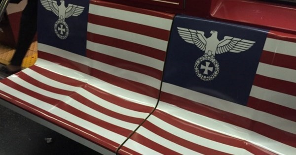 Outrage of The Day: Amazon Backtracks on Decision to Plaster Subway Cars With Nazi Flags