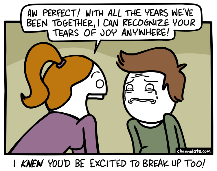 web comics tears It's Better This Way