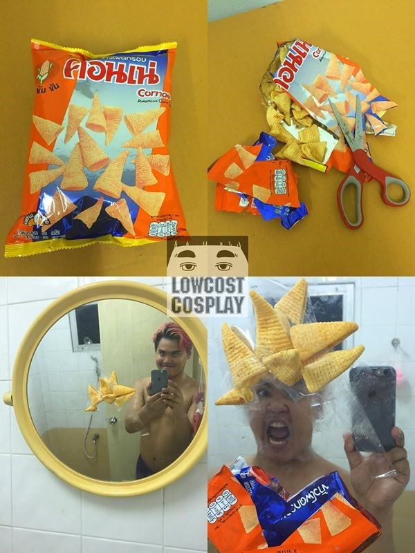 funny low cost cosplay