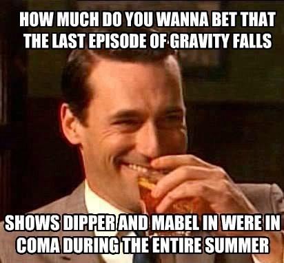 dream coma gravity falls - 8588578816