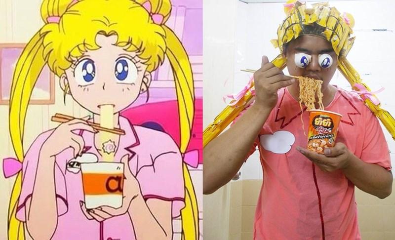 funny bad cosplay