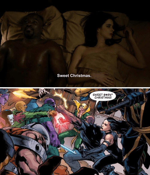 jessica jones luke cage Jessica Jones Goes for Accuracy