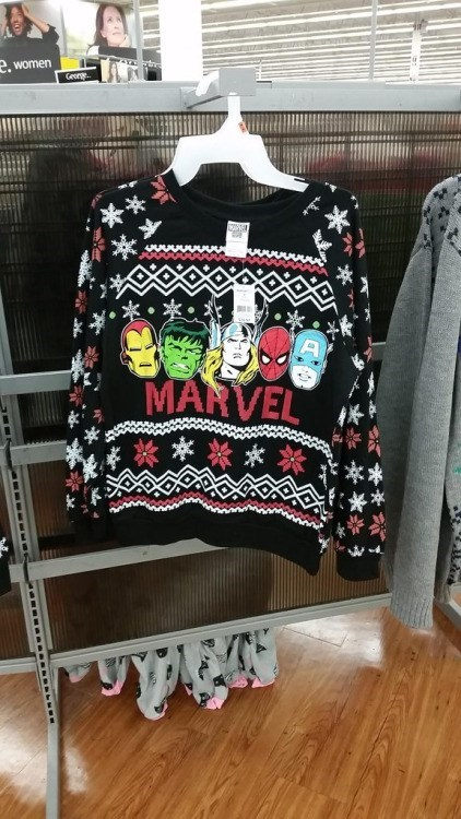 marvel sweater This is Only an Ugly Christmas Sweater If You Prefer DC Comics