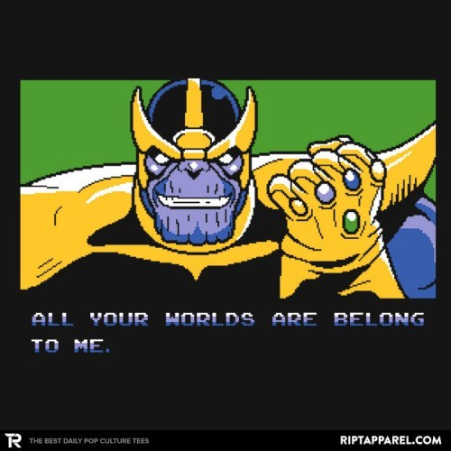 thanos memes Somebody Set Us Up the Infinity Gauntlet.