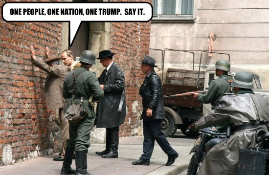 ONE PEOPLE, ONE NATION, ONE TRUMP.  SAY IT.