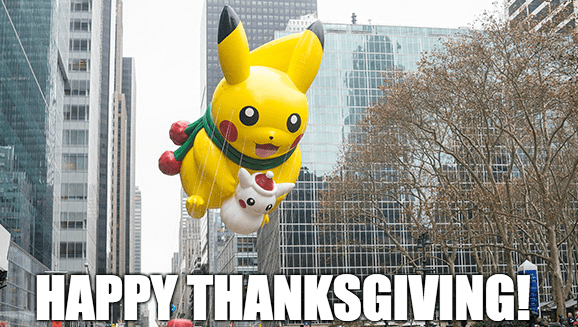 pokemon memes happy thanksgiving