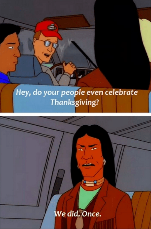king of the hill celebrate thanksgiving