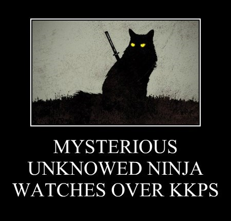 MYSTERIOUS UNKNOWED NINJA WATCHES OVER KKPS