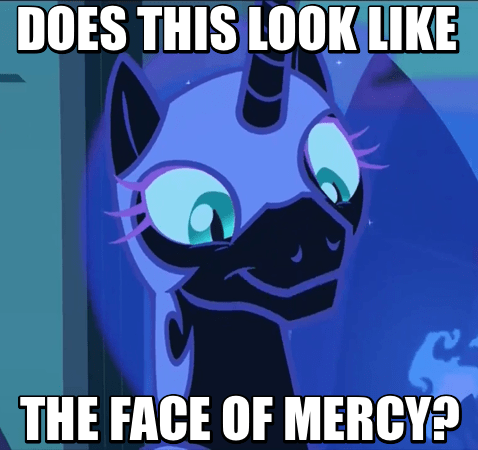 the face of mercy nightmare moon - 8589797888