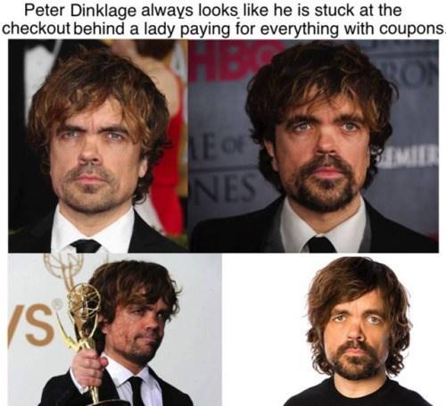 funny memes peter dinklage stuck in line
