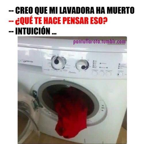 lavadora ha muerto