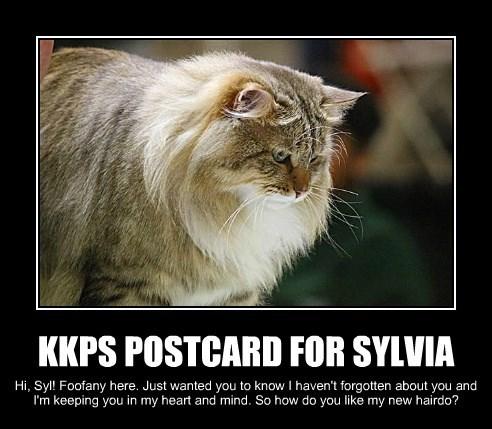 KKPS POSTCARD FOR SYLVIA