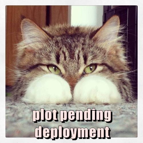 plot pending deployment