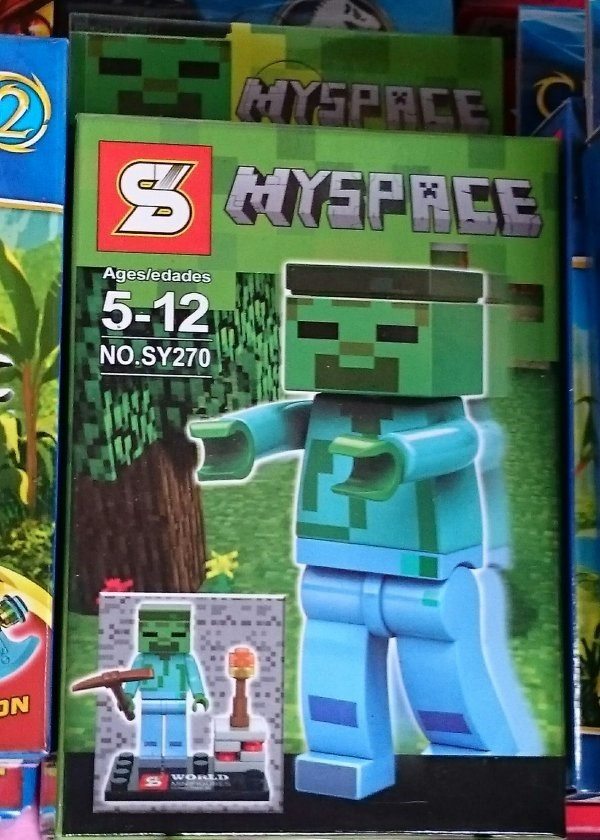 lego minecraft myspace - 8590299392