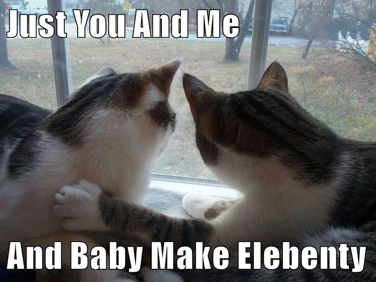 Just You And Me  And Baby Make Elebenty