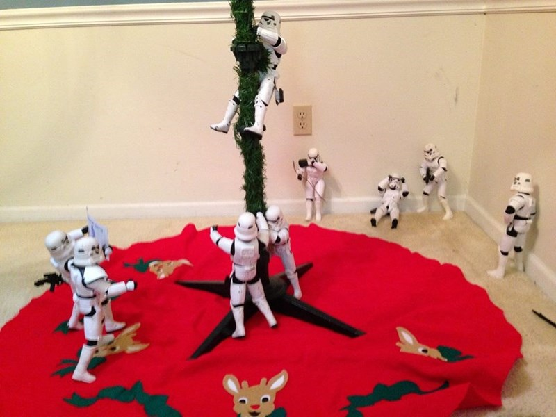 stormtrooper christmas tree They Make It Look Easy