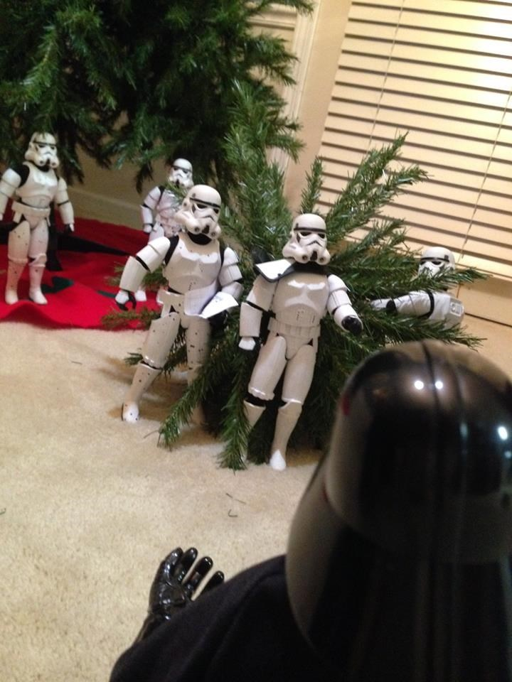 stormtrooper christmas tree