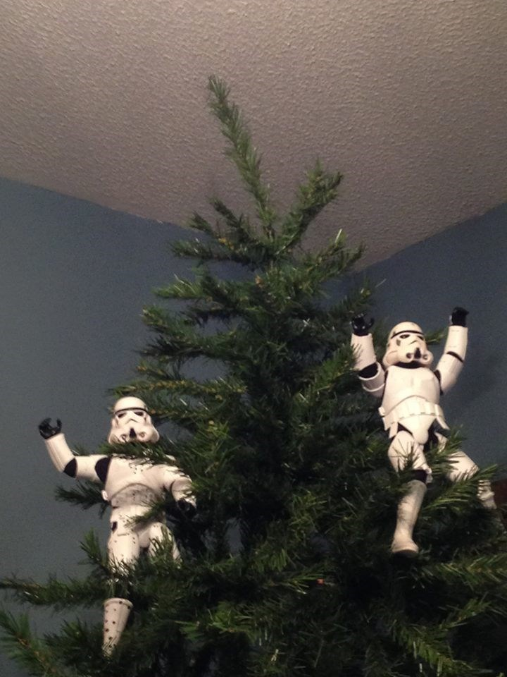 stormtrooper christmas tree success