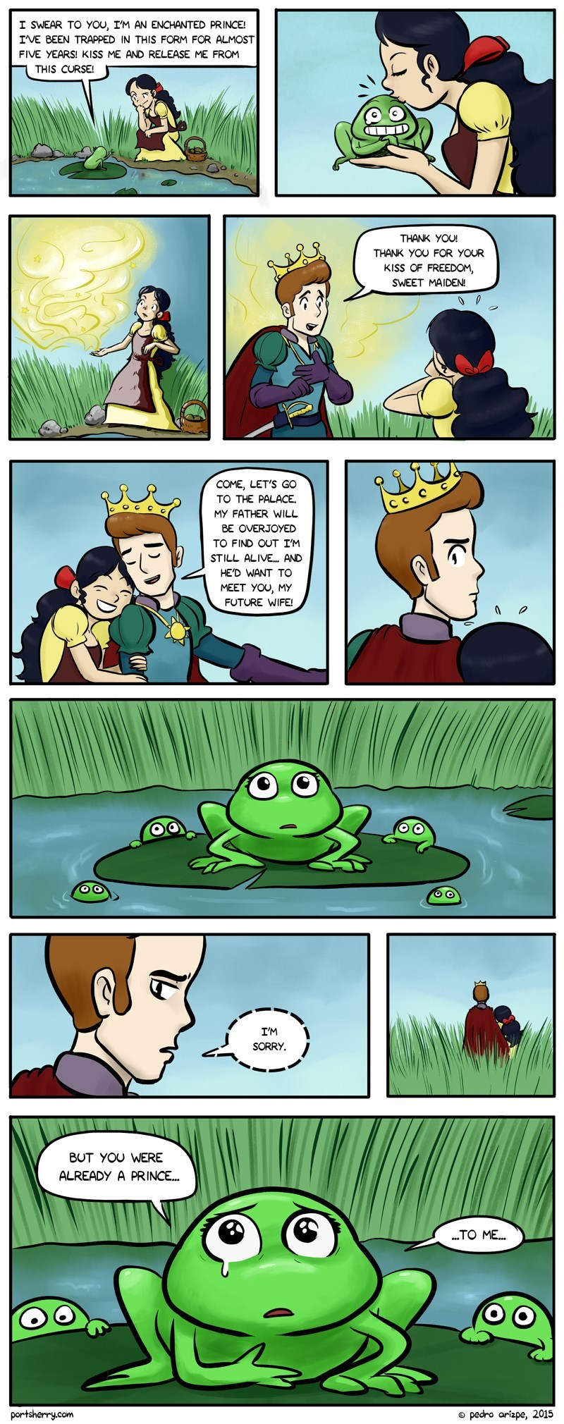 web comics prince frog It Would Never Have Lasted