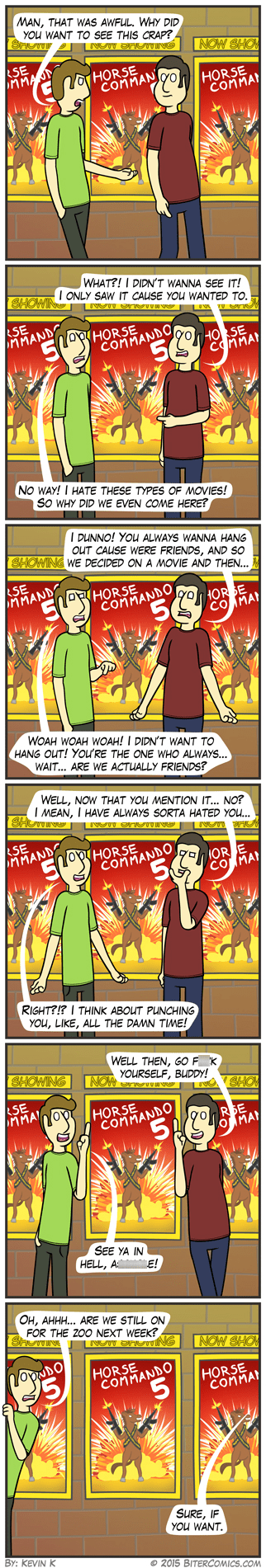 friendship,web comics