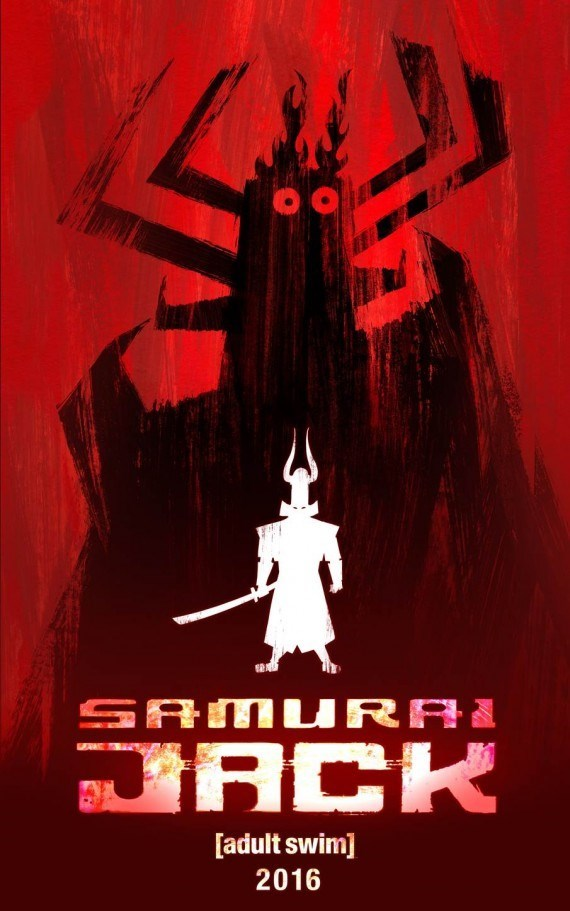 samurai jack new season poster