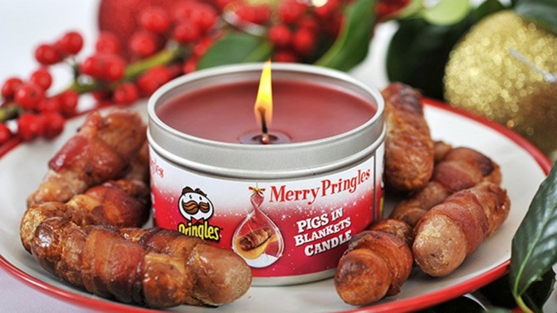 pringles candles Soon You Can Fill Your Home With the Festive Scent of Cheese and Meat