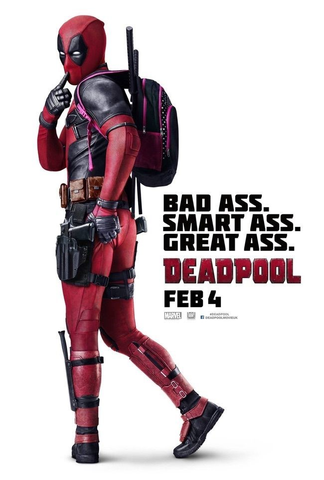 "deadpool movie poster Deadpool Gets a ""Cheeky"" New Poster"