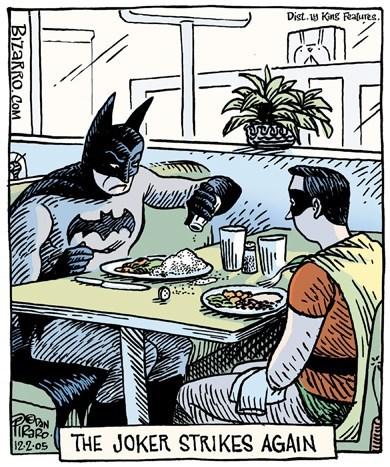 web comics joker batman Batman Probably Should Have Seen That Coming
