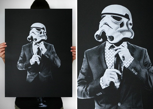 star wars And a Classy Painting to Go With Your Classy Whiskey