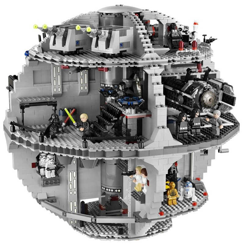 star wars A Lego Death Star, If You're a Big Spender