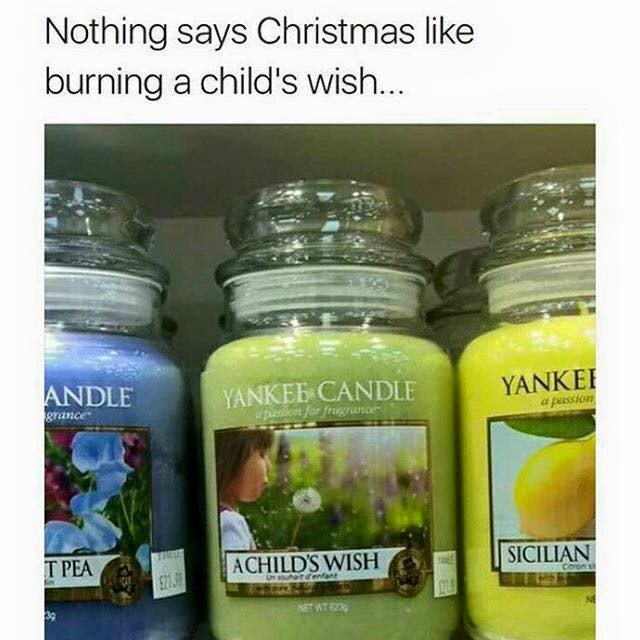 yankee candle burning a childs wish