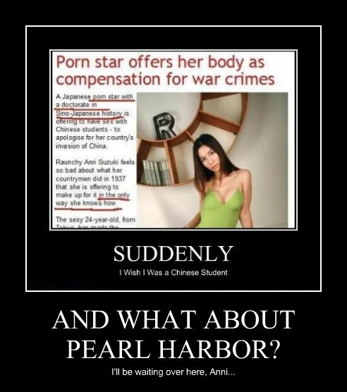 AND WHAT ABOUT PEARL HARBOR?