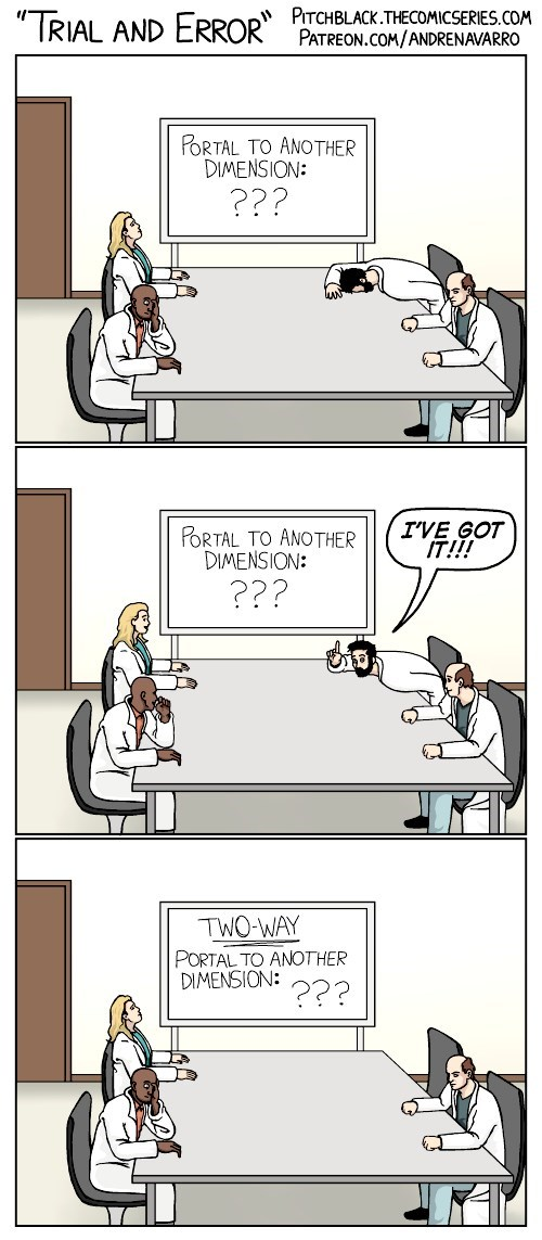 web comics science problem Next Time, Be More Specific
