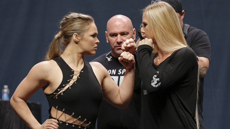 Rematch of the Day: Ronda Rousey and Holy Holm Will Face Off Again in the Octagon