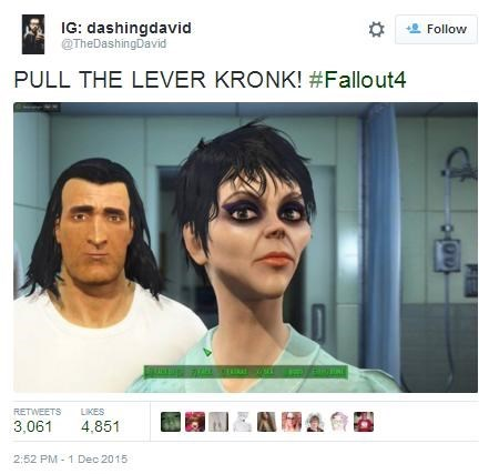 cartoon memes emperors new groove fallout 4