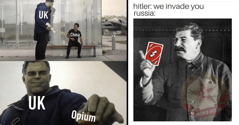 Dank history memes, funny history memes, the hulk.