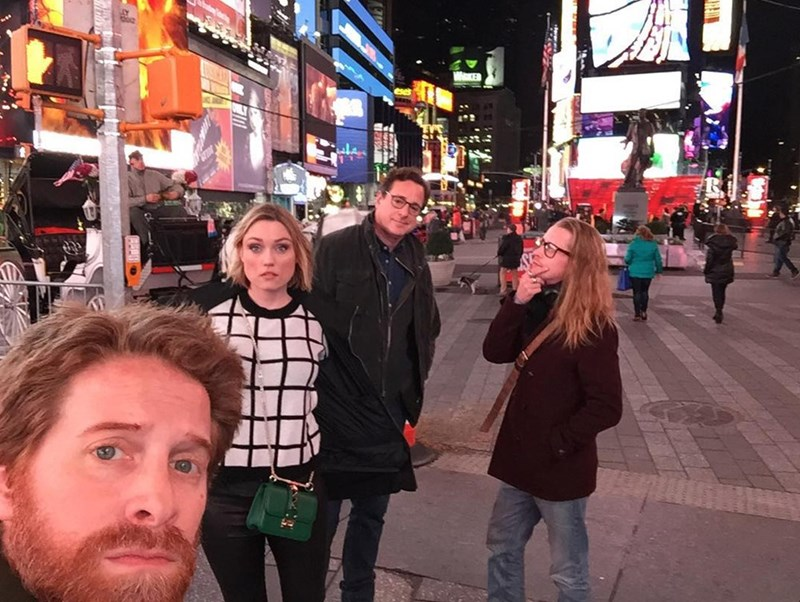 celebrity selfies Bob Saget, Macauley Culkin and Seth Green Combined to Take the Ultimate, If Unexpected, 90's Nostalgia Selfie