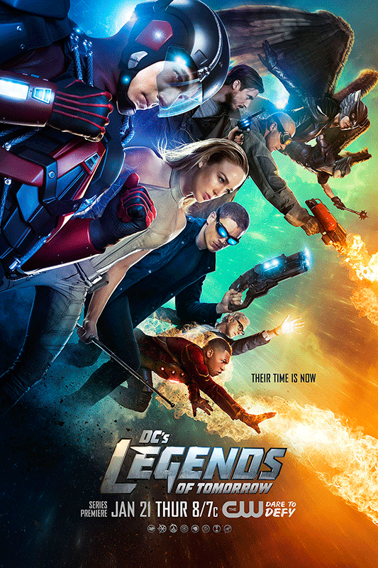 dc posters Poster Revealed for DC's Legends of Tomorrow