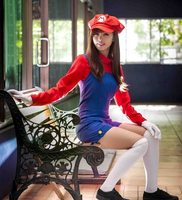 cosplay rule 63 Super Mario bros mario - 8591571456
