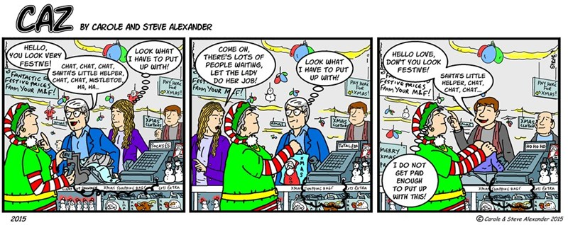 web comics holidays Everyone Loves the Holidays