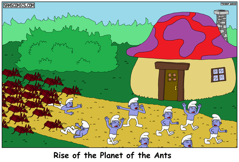 web comics smurfs I Think We're Still Safe