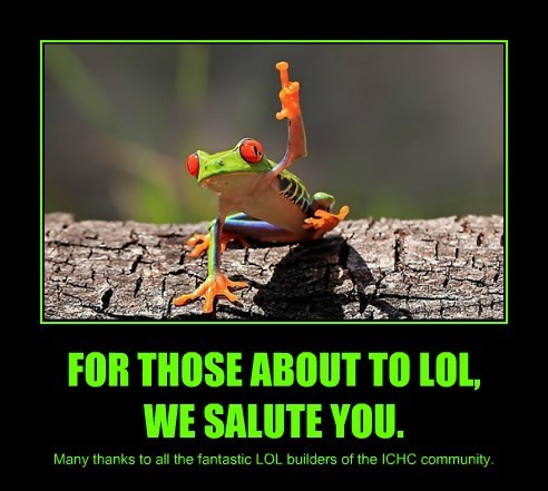 FOR THOSE ABOUT TO LOL,  WE SALUTE YOU.