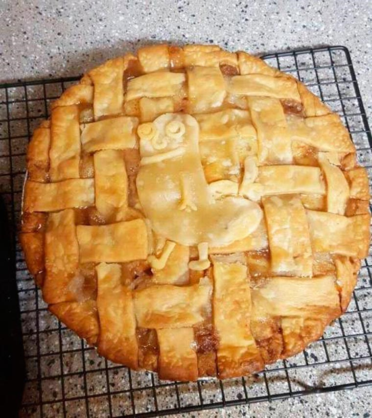 dickbutt lattice top pie