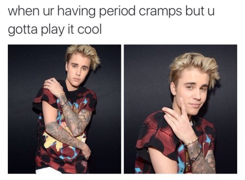 funny memes justin bieber play it cool cramps