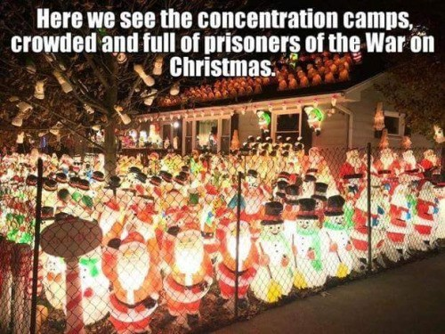 funny memes war on christmas concentration camps