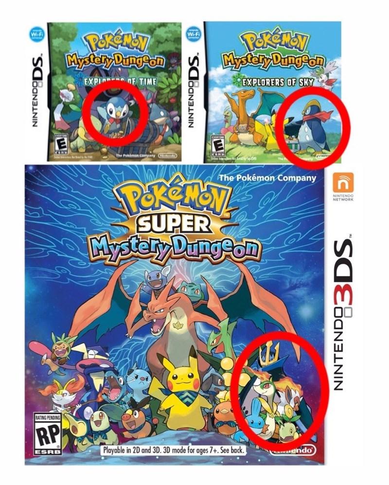 pokemon memes super mystery dungeon evolution