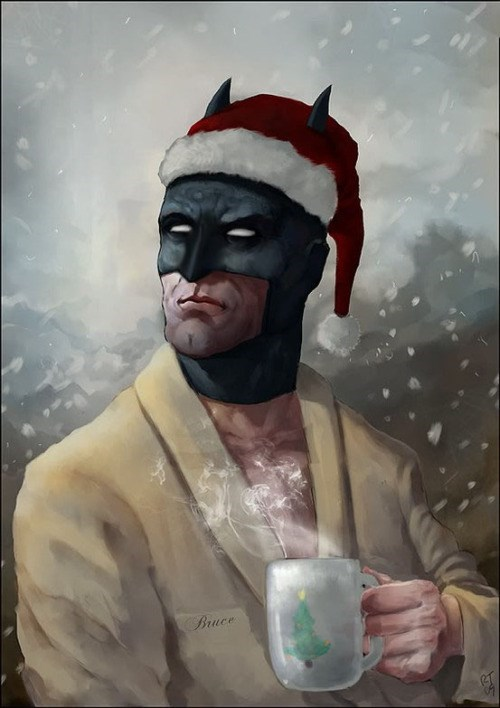 batman holidays Looks Like Bruce Wayne is Getting Into the Holiday Spirit